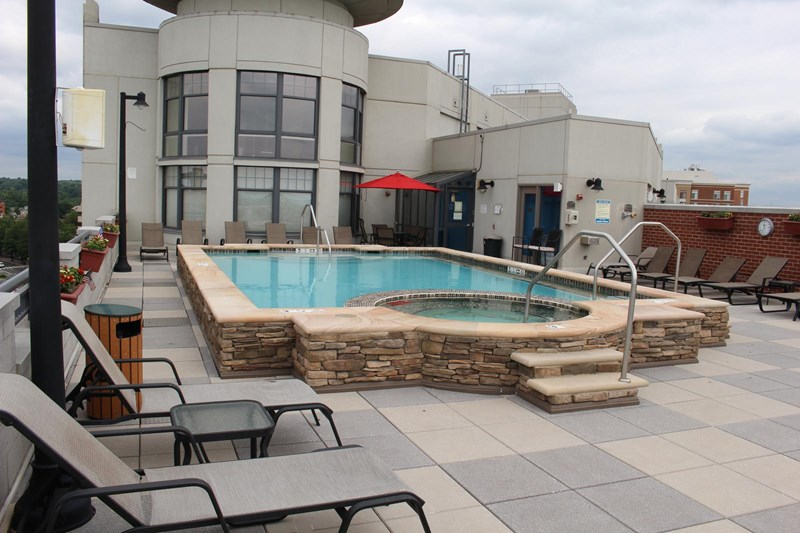 Condo Roof Pool
